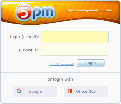 5pm SSO Login