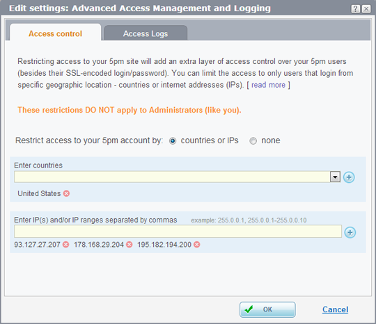 Advanced Access Management