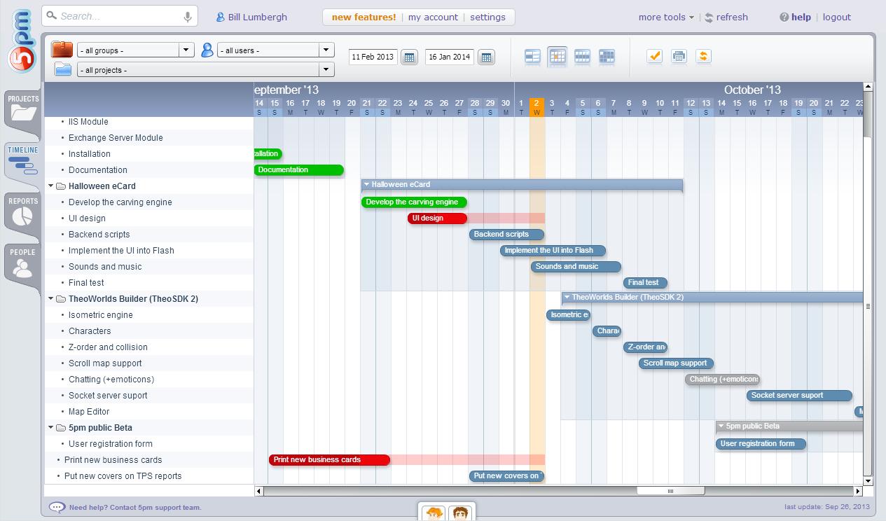download timeline gantt chart