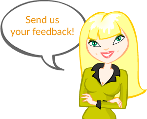 Send us your feedback!